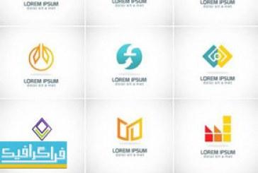 دانلود لوگو های انتزاعی هندسی – لایه باز وکتور