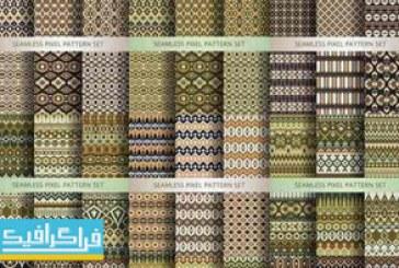 دانلود وکتور پترن های انتزاعی Abstract Patterns – شماره 2
