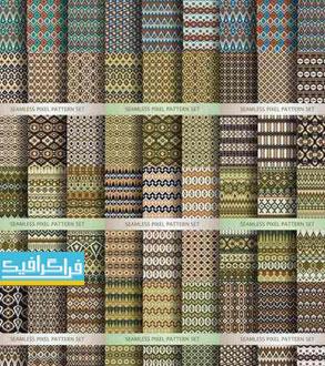 دانلود وکتور پترن های انتزاعی Abstract Patterns - شماره 2
