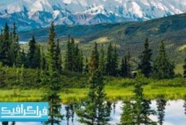 دانلود والپیپر دسکتاپ طبیعت آلاسکا