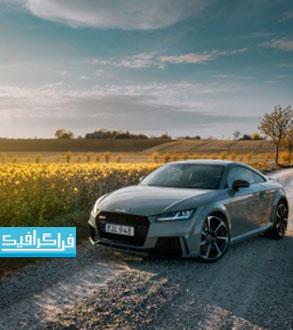 دانلود والپیپر دسکتاپ اتومبیل Audi TT rs 2017