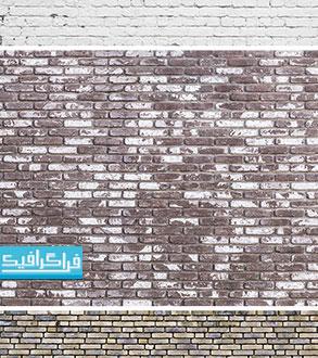 دانلود تکسچر تصاویر دیواری آجری - رایگان