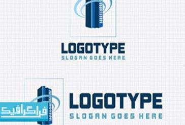 دانلود لوگو ساختمان تجاری لایه باز وکتور – رایگان