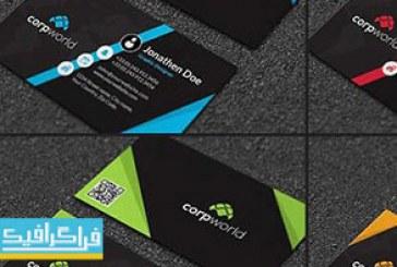 دانلود کارت ویزیت لایه باز فتوشاپ شرکتی – شماره 134