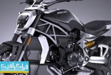 دانلود مدل سه بعدی موتور سیکلت Ducati X-Diavel 2016