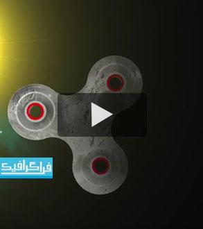 ویدیو : علمی : اگر ماه فیجت اسپینر بود