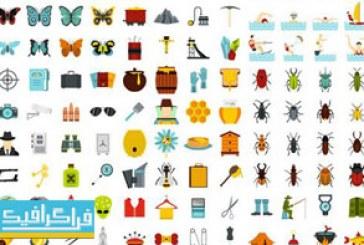 دانلود آیکون های فلت مختلف – Flat Icons – شماره 35