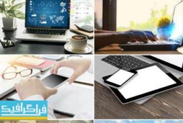 دانلود تصاویر استوک لپ تاپ – موبایل – تبلت