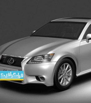دانلود مدل سه بعدی اتومبیل لکسوس GS 350 2013