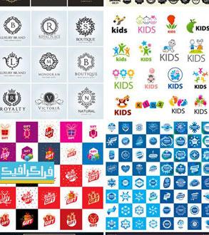 دانلود لوگو های مختلف وکتور لایه باز - شماره 165
