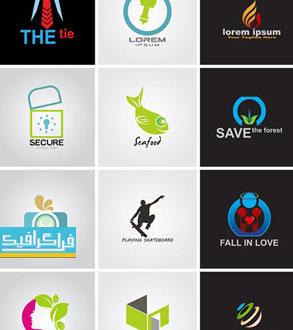 دانلود لوگو های مختلف وکتور لایه باز - شماره 167