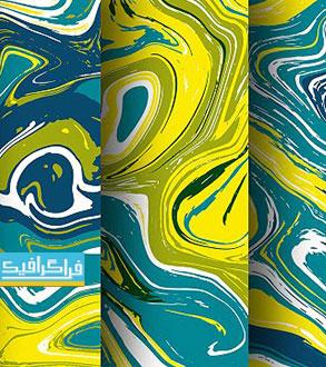 دانلود وکتور پترن های مرمر - Marble Patterns