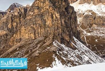 دانلود تصاویر استوک کوهستان برفی – رایگان