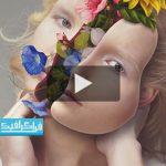 آموزش ویدیویی فتوشاپ افکت پرتره گل