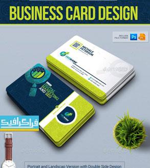 دانلود کارت ویزیت سئو - بازاریابی دیجیتال - لایه باز فتوشاپ و وکتور