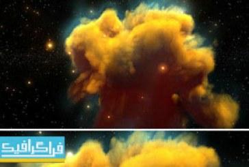 دانلود ویدیو فوتیج حرکت در فضا و ابر سحابی