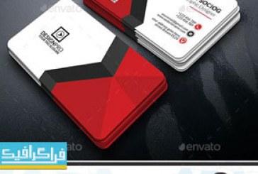دانلود 2 کارت ویزیت لایه باز فتوشاپ شرکتی – شماره 12
