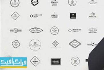 دانلود 50 لوگو عکاسی مدرن – لایه باز فتوشاپ و وکتور