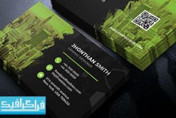 دانلود کارت ویزیت لایه باز فتوشاپ شرکتی – رایگان