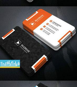 دانلود کارت ویزیت لایه باز فتوشاپ شرکتی - شماره 140