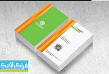 دانلود کارت ویزیت لایه باز فتوشاپ شرکتی – شماره 144