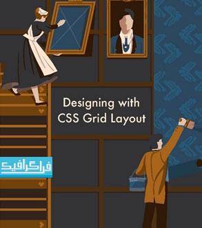 دانلود کتاب آموزش انگلیسی CSS قالب شبکه ای Grid Layout