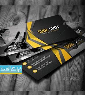 دانلود کارت ویزیت باشگاه بدنسازی لایه باز فتوشاپ - شماره 3
