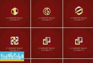 دانلود لوگو های طلایی مختلف – لایه باز وکتور – شماره 2