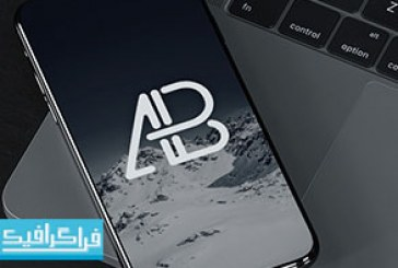 دانلود ماک آپ فتوشاپ موبایل آیفون 8 – رایگان