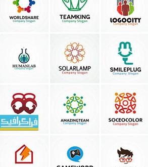 دانلود لوگو های مختلف وکتور لایه باز - شماره 176