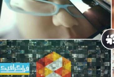 دانلود پروژه افتر افکت نمایش لوگو – ویدیو وال چندتایی