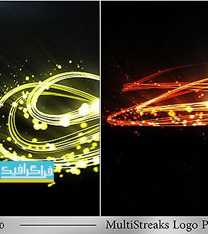 دانلود پروژه افتر افکت نمایش لوگو - خطوط نورانی