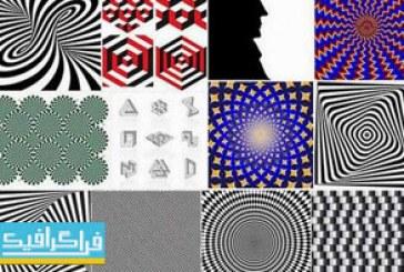 دانلود وکتور طرح های خطای چشم – شماره 2