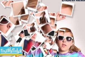 دانلود اکشن فتوشاپ افکت پراکندگی پلاروید – Polaroid Dispersion