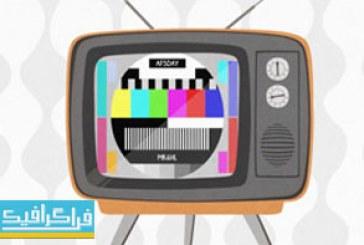 دانلود پروژه افتر افکت تلویزیون قدیمی دهه 70