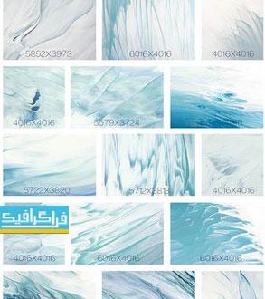 دانلود تکسچر تصاویر نقاشی شده سطح دریا