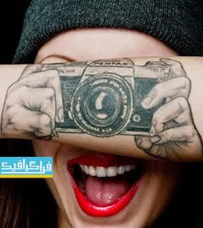 دانلود اکشن فتوشاپ ساخت خالکوبی - Tatto Maker