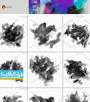 دانلود براش های فتوشاپ آبرنگ - شماره 10