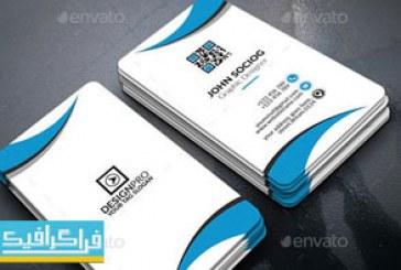 دانلود 2 کارت ویزیت لایه باز فتوشاپ شرکتی – شماره 16