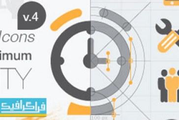 دانلود پروژه افتر افکت 400 آیکون متحرک – Animated Icons
