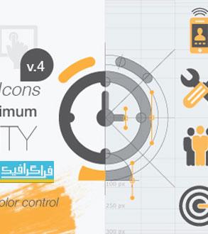 دانلود پروژه افتر افکت 400 آیکون متحرک - Animated Icons
