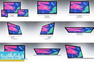 دانلود ماک آپ فتوشاپ محصولات شرکت اپل – شماره 4