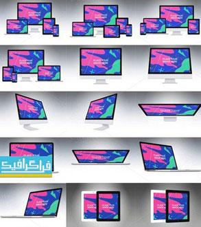 دانلود ماک آپ فتوشاپ محصولات شرکت اپل - شماره 4