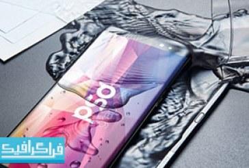 دانلود ماک آپ فتوشاپ موبایل Samsung Galaxy Note 8 – رایگان