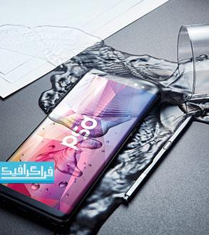 دانلود ماک آپ فتوشاپ موبایل Samsung Galaxy Note 8 - رایگان