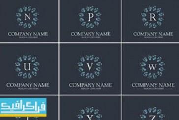 دانلود لوگو های حروف انگلیسی لایه باز وکتور – شماره 10