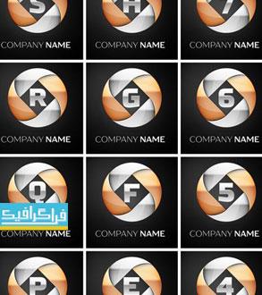 دانلود لوگو های حروف انگلیسی لایه باز وکتور - شماره 6