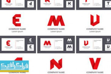 دانلود لوگو های حروف انگلیسی لایه باز وکتور – شماره 7