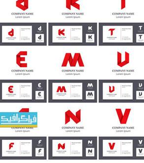 دانلود لوگو های حروف انگلیسی لایه باز وکتور - شماره 7