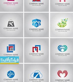 دانلود لوگو های مختلف وکتور لایه باز - شماره 177